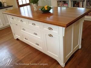 White Oak Wood Countertop in Moorestown, New Jersey