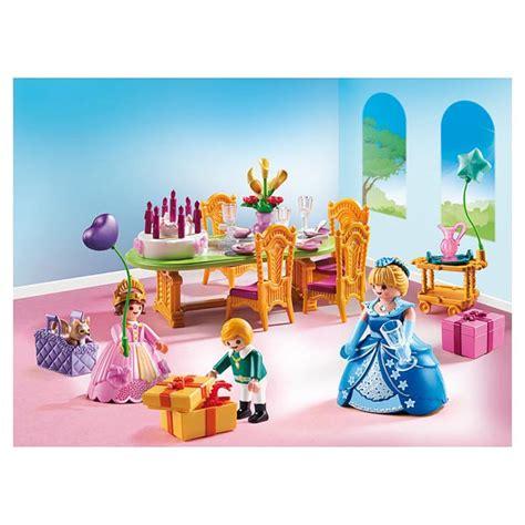 6854 salle 224 manger pour anniversaire princier playmobil princess playmobil king jouet
