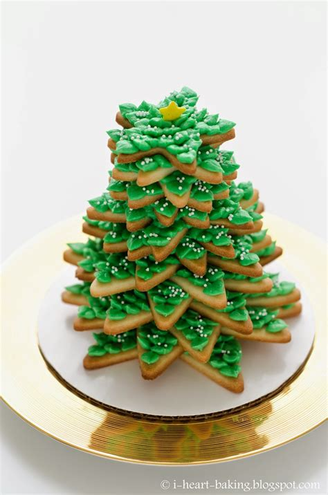 i heart baking 3d cookie christmas tree