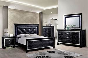 Classic Elegance Black Bedroom Furniture Bedroom