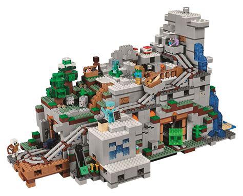 mountain cave   biggest minecraft lego set