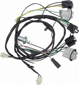 1970 Nova Rear Lights Wiring Harness
