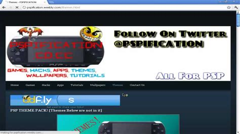 The Best Site For Psp Games,themes,wallpapers,hacks,apps