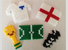 World Cup Crafts HAMA Bead Fun Red Ted Art's Blog