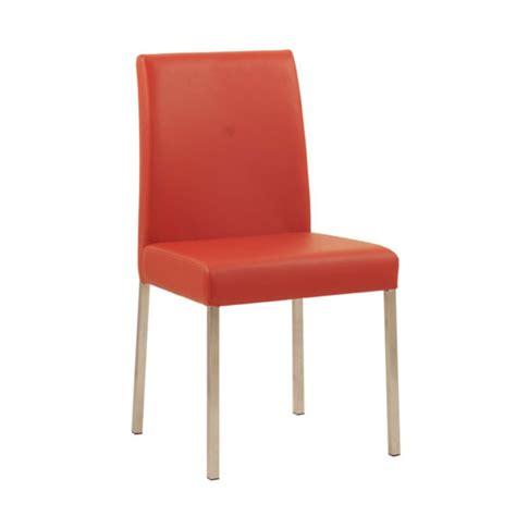 la chaise restaurant chaise design de restaurant en acier assise et dossier