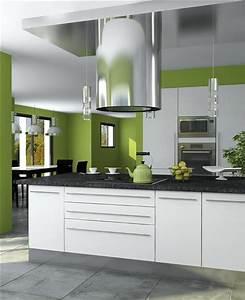 Idee Couleur Mur Cuisine : top 5 des couleurs oser dans une cuisine d coration ~ Dailycaller-alerts.com Idées de Décoration