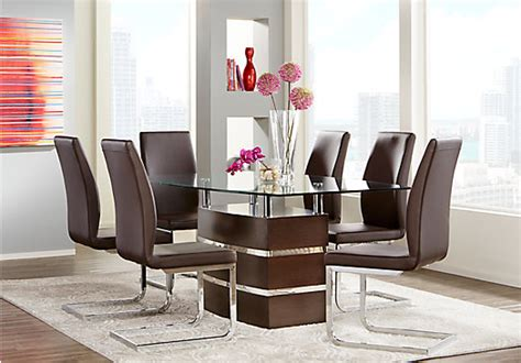 Tria Merlot (reddish Brown) 5 Pc Rectangle Dining Room