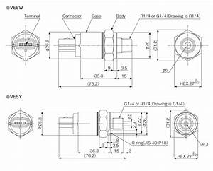 Miniature Absolute Pressure Transmitter Vesw  Vesy Series