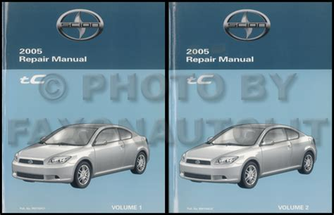 free online car repair manuals download 2005 scion xa security system 2005 scion tc repair shop manual original