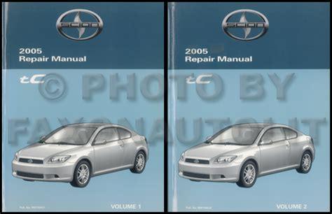 hayes car manuals 2005 scion xa free book repair manuals 2005 scion tc repair shop manual original