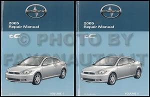 2005 Scion Tc Wiring Diagram Manual Original