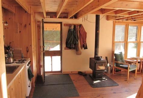 diy hand built  grid tiny cabin