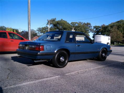 how it works cars 1989 ford mustang electronic toll collection ford mustang sedan 1989 blue for sale 1fabp40exkf201529 1989 ford mustang lx 5 0 ssp notchback