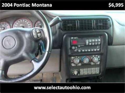 how to fix cars 2004 pontiac montana lane departure warning 2004 pontiac montana used cars dayton oh youtube