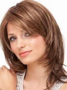 Coiffure Femme Mi Long : coupe de cheveux femme mi long ~ Melissatoandfro.com Idées de Décoration