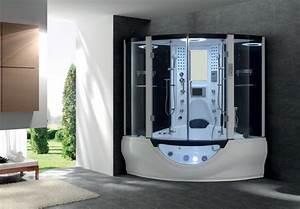 Baignoire Douche Balneo : baignoire douche venus dual angle hydromassage hammam 160 ~ Melissatoandfro.com Idées de Décoration