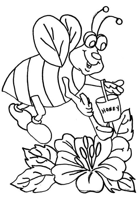 Pin di Bumblebee Coloring Pages