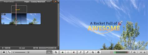 Create iMovie titles or watermarks with creative overlays ...