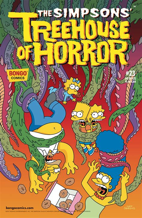 Jul171467  Simpsons Treehouse Of Horror #23  Previews World