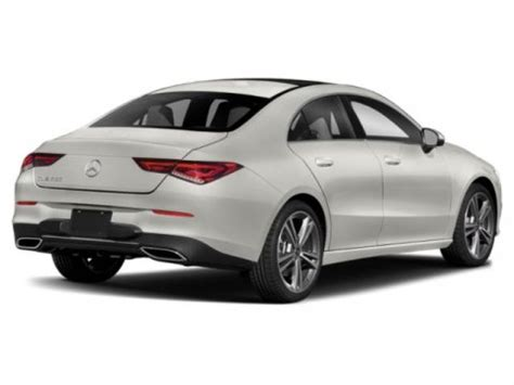 Research, compare and save listings, or contact sellers directly from 4 2020 cla 250 models nationwide. 2020 Mercedes-Benz CLA 250 4MATIC Coupe   Polar White 20-903