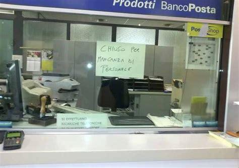 Ufficio Postale Frascati by Dipendenti In Malattia Chiuso L Ufficio Postale
