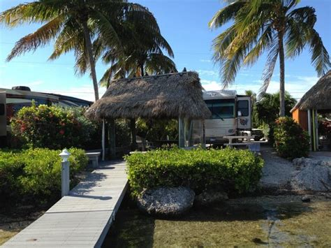 Our Tiki Hut With Boat Dock/water In The Background