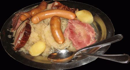 recette traditionnelle cuisine americaine ce midi choucroute la suisse normande