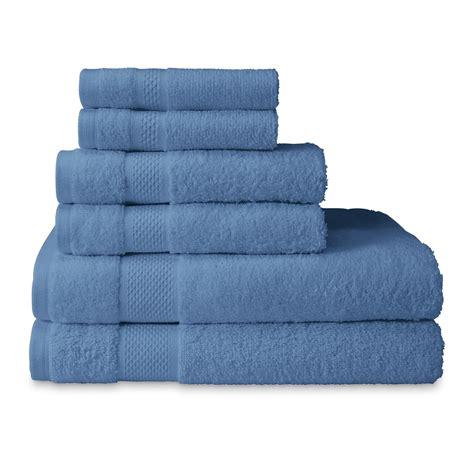 Kmart Bath Towel Sets by Cannon Ringspun Cotton 6 Bath Towel Set Home Bed