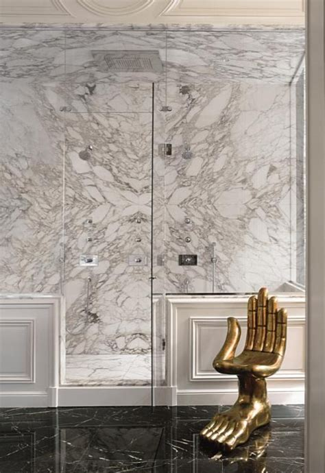 white bathrooms  brass fixture