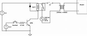 Doorbell To Buzzer With Relay And Ac To Ac Transformer