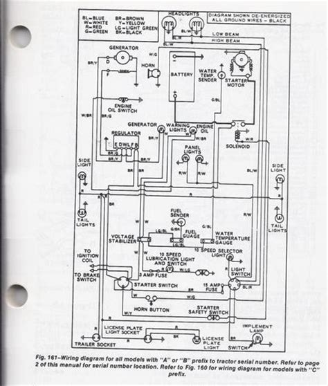 Ford 3000 Generator Wiring by Ford 3000 Tractor Wiring Diagrams