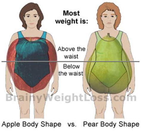 apple shape body type diet