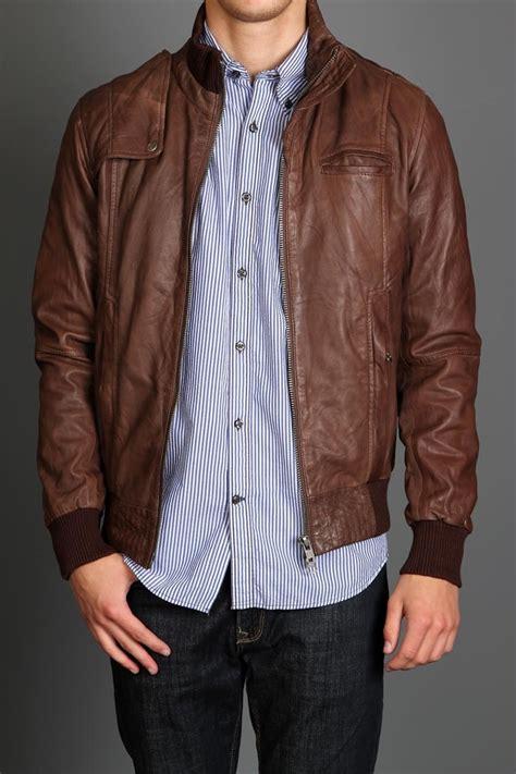 images  jaket kulit pria agho leather