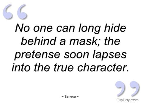 Hiding Behind Masks Quotes