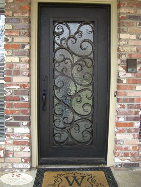 pin  home innovations  stairsentry  home innovations wrought iron front door iron