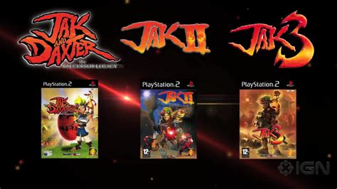 The Jak And Daxter Trilogy Announcement Trailer