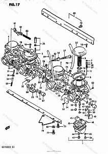 Suzuki Motorcycle 1983 Oem Parts Diagram For Carburetor