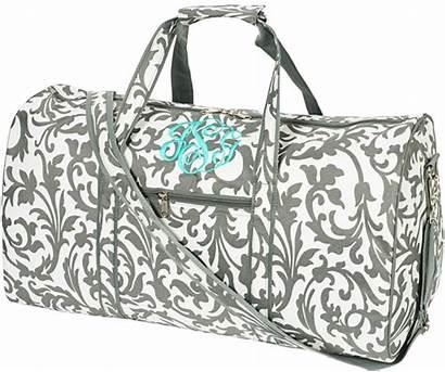 Duffle Bag Monogram Bags Duffel Grey Floral