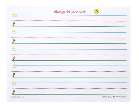 preschoolkindergarten handwriting paper classroom ideas