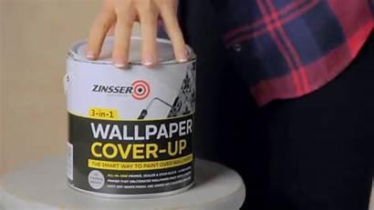 Paint Painting Paper Zinsser Removing Vinyl Primer