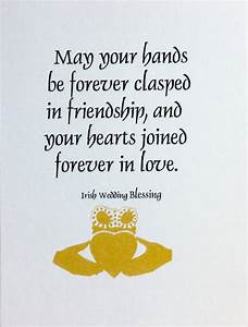 Irish wedding Blessing by GirlzGoodz on Etsy | Weddings ...
