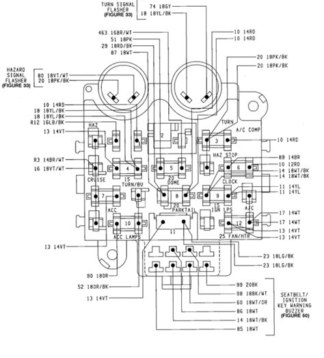 1987 Jeep Heater Wiring by 1990 Yj Fuse For Radio And Clock Jeepforum