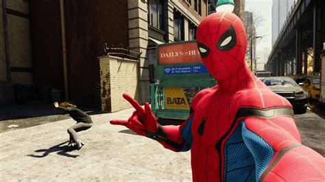 unlock spider man pss homecoming suit gamespot