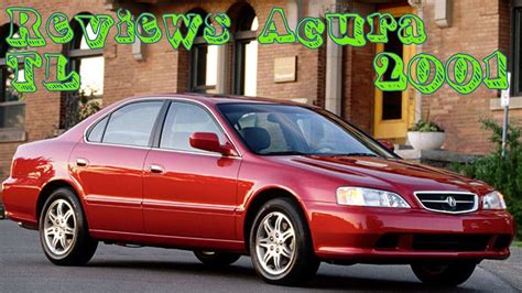 2001 Acura Tl Review reviews acura tl 2001