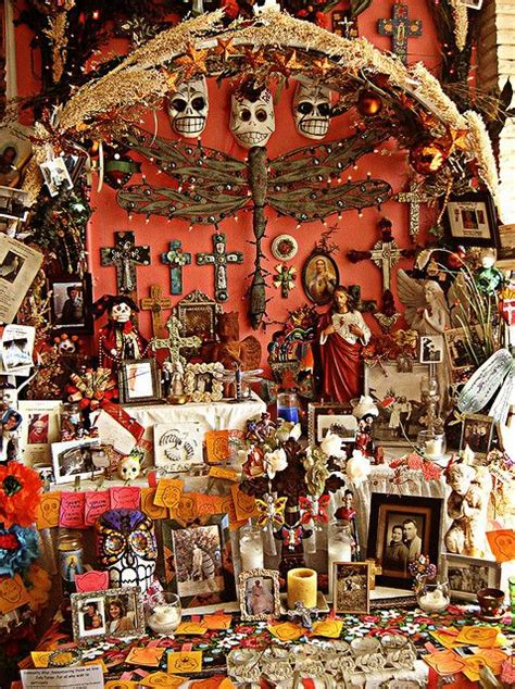 Ofrenda Day of the dead art Day of the dead Altar