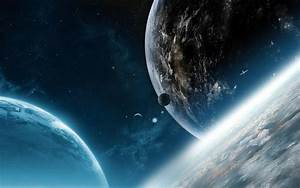Outer Space Planets Satellite