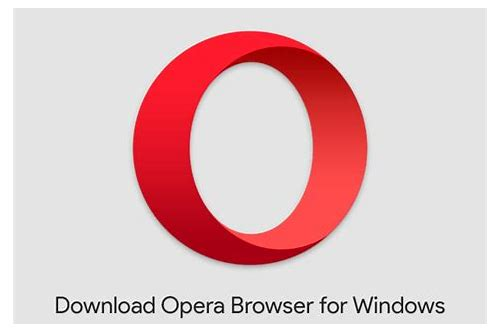 opera free download for windows 10