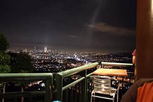 KL city view after dark