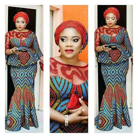 ankara dresses  lace   popular  season tuko