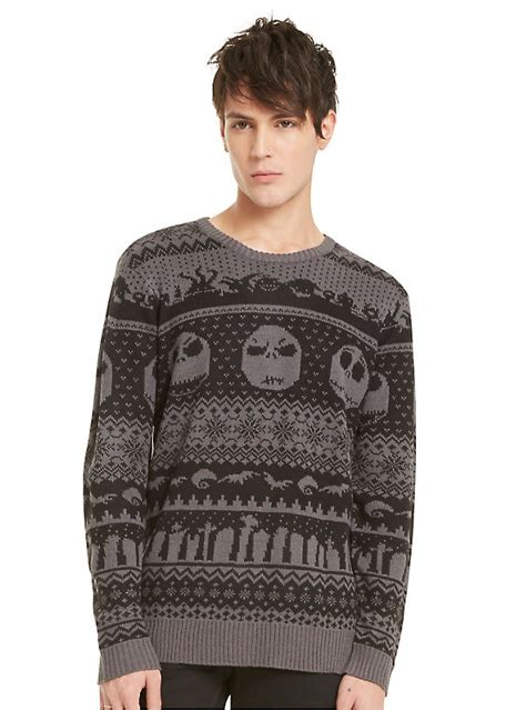 nightmare before sweater the nightmare before skellington fair isle